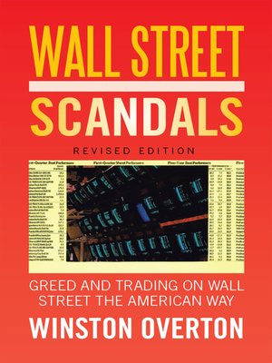 cover image of Wall Street Scandals